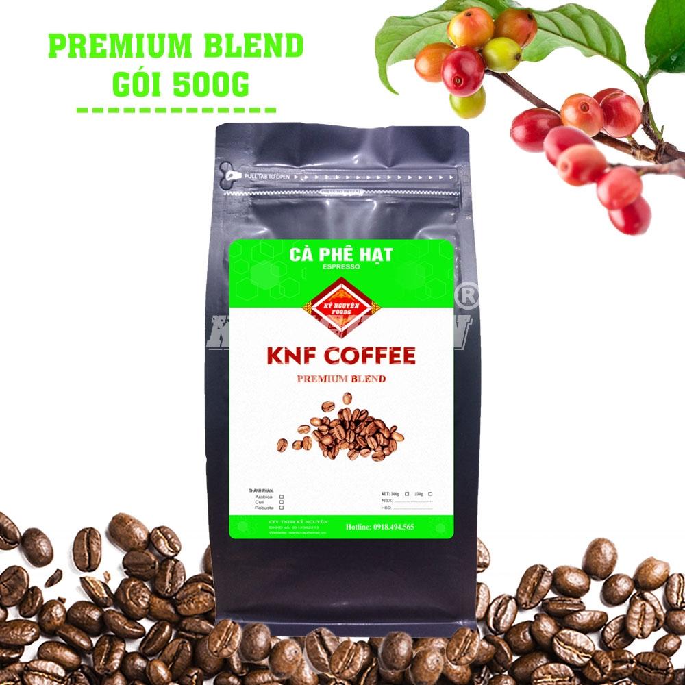 500G - CÀ PHÊ HẠT PREMIUM BLEND - KNF COFFEE